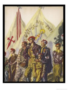 Requetes-the-carlist-militia-movement-Spanish Civil War