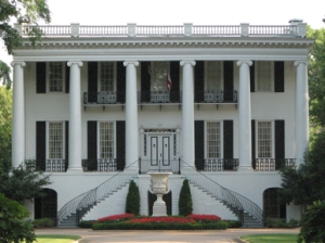 Univ. of Alabama president's plantation house