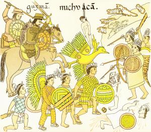 Aztec account of Siege of Tenochtitlan