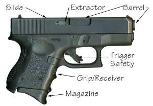 semi handgun