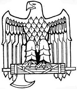 American fascist eagle symbol