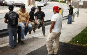 mexican-illegal immigrant-day laborers