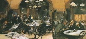 Cafe culture across modern europe_