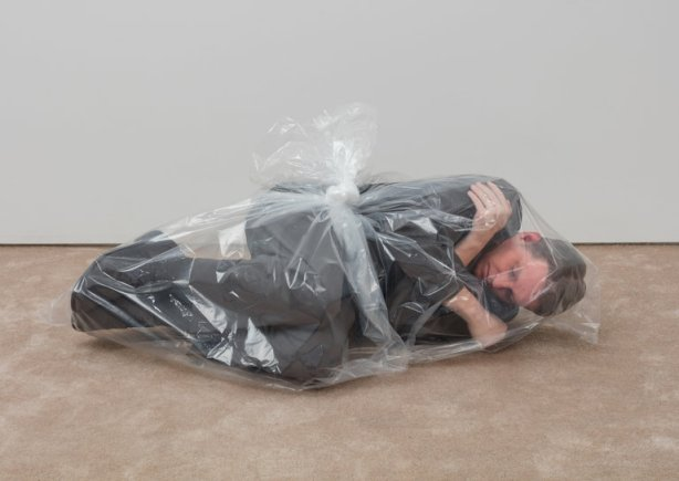 latex bag collapse