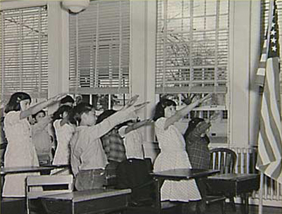 american-school-children-pledge allegiance